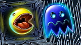 Pac-Man Chasing Ghost