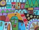 Motley Landscape - Karla Gerard