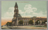 Town Hall, Collingwood c. 1906 (State Library of Victoria)