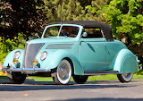 1937 Ford V8 Deluxe Convertible