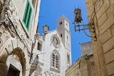Church, architecture, houses, street lam, Giovinazzo, Puglia