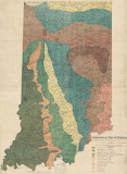 Geological Map of Indiana 1894