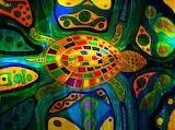 sea-turtle-abstract-ocean-native-art-marie-jamieson