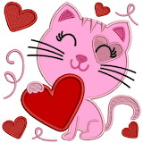 Cute Pink Kitty