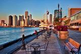 Sunrise in Chicago