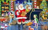 Colours-colorful-Santa's-workshop-painting