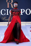 Red & Black Formal Gown
