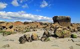 Spiddal Beach Rocks