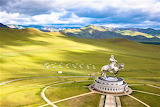 Genghis Khan statue Mongolia