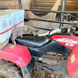 Invisible Kitty Kat taking a nap at the farm