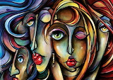 colors faces-painting