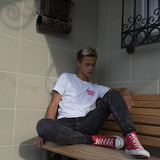 Teen and converse