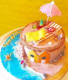 Beach lover's cake @ Pasticci Divini