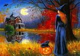 Halloween-painting