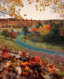 Vermont in autumn