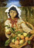 The Lemon Seller - Hans Thoma 1880