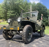 Mark Barton's 1952 Willys M38