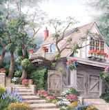 Steps To The Cottage ~ Barbara R. Felisky