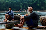 fishing, Li River, Guilin, Guangxi, China