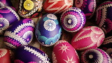 Pink and Purple Easter Eggs