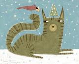 ^ Christmas cat ~ Terry Runyan