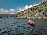 Fisherman at Bere Island Ireland