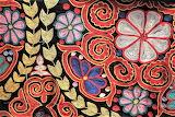 Kazakh chain stitch rug