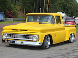 Chevy pickup yellow MOD