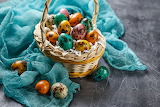 Decoración con huevos