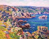Henry Moret Le Castel Roch. Baie de Douarnenez 1910
