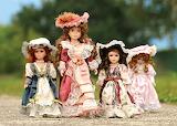 dolls-mother with children