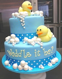 Rubber duckie cake @ Sweet Mary