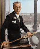 Bernard Boutet de Monvel, Autoportrait à la Place Vendôme, 1932