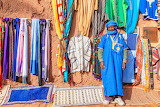 Berber selling souvenirs