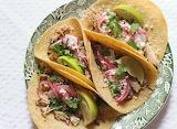 ^ Pork Carnitas Tacos