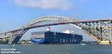 CMA CGM Theodore Roosevelt, Bayonne Bridge
