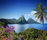 Saint-Lucia Landschap