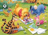 Art Class in the Hundred Acre Wood