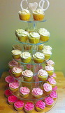 Cupcake tower @ Whisky Tales