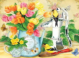 Tulips & Teacups~ JaneMaday