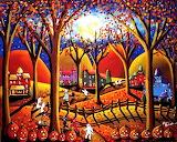 #Halloween Fun Fall Night Witches by Renie Britenbucher