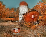 Old Barn in the Fall Warwick New York USA