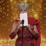 Presenter Jane Fonda