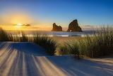 Wharariki Sunset New Zealand