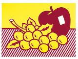 Apple&Grapes - Roy Lichtenstein