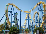 The Great Invertigo Coaster California USA