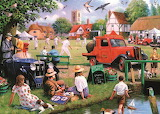 Kevin Walsh - The Village Green in Summer