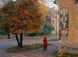 Old sign for photographer, Kaliningrad, Obl.
