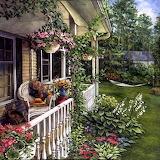 Summer Garden ~ Lorraine Ryan