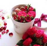 Flowers and macarons.................................x